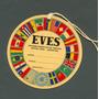 Turismo Eves - Antigua Etiqueta Para Valijas -