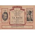 Teatro Colon Cine Mar Del Plata Antiguo Programa 1947 (a)