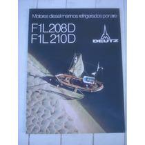 Antiguo Folleto Motores Marinos Diesel Deutz-germany