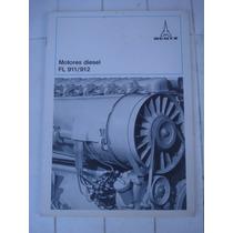 Antiguo Folleto Motores Diesel Fl 911/912 Deutz-germany