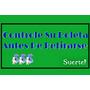 Controle Su Tarjeta -autoadhesivo- Para Agencias De Quiniela