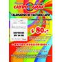 Facturas, Talonario De 50 Hojas X Duplicado . $ 80 Final