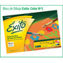 Blocs De Dibujo Nº5 Exito Hojas Color Colores Tipo El Nene