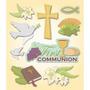 Plancha De Stickers Tridimensionales Comunión K&company