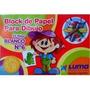 Block De Dibujo Luma Tipo El Nene N° 6 X 20 Hojas Blancas
