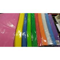 Goma Eva Lote X 10 Planchas 40x60 1mm Espesor Vario Colores