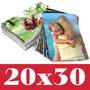X30 Revelado Digital Fotos En 20x30 Papel Kodak