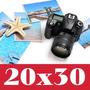 X100 Revelado Digital Fotos En 20x30 Papel Kodak