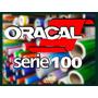 Vinilo De Corte Oracal 100 Precio X Metro Se Vende X Rollo