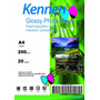 Papel Fotográfico Glossy 200 Grs Kennen A4 500 Hojas