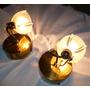 Apliques De Pared Veladores Antiguos De Bronce Velones Juego