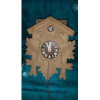 Antiguo Reloj Cucu Original De La Selva Negra Falta Limpieza