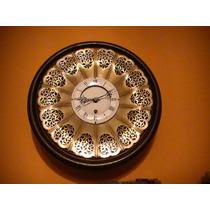 Reloj Decada Del 40 Pendular Interno A Cuerda Unico.