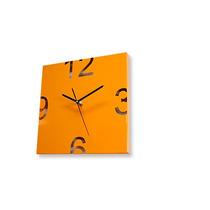 Reloj De Pared Moderno Diseño Pielmetal