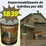 Bioclon Impermeabilizantes Ladrillo Visto Por 20l