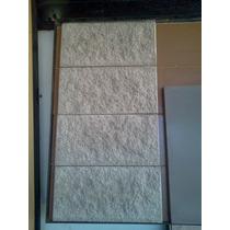 Revestimiento Pared Placa-bloque Hormigón Moldeado Rustico