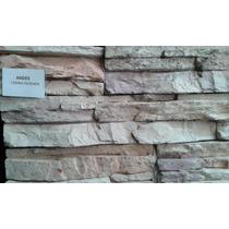 Revestimiento Simil Peidra Nat Ecostone Andes Crema Oxidada