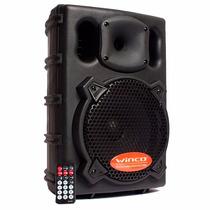 Bafles Potenciados Parlantes Profesionales Winco 300w- Usb