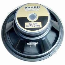 Parlante Jahro Woofer Full-range Bw 1240