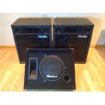 2 Cajas Sonido + Monitor Roller