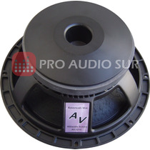 Parlante American Vox Av 1210 Woofer 12 400watts Rcf 98db