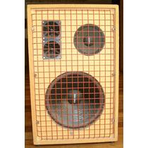 Bafle Caja Monitor 3 Vias 12 Jahro 150w Rms Reja Metálica