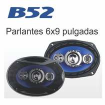 Parlantes Para Auto 6x9 B52 Wave 9301 5 Vias Garantia