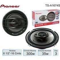 Parlantes Pioneer 6,5´ 300w 3 Vias. Nuevo.