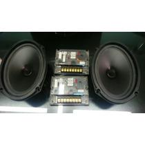 Parlantes 6x9 Mb Quart Mod Rfm169 Muy Poco Uso Con 4 Twetter