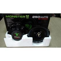 Parlantes 6 Pulgadas Monster Linea W 250 W Auto Uno Caseros