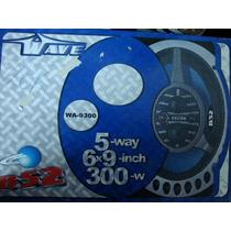 Parlantes 6 X9 Triaxiales B52 300 Watts 5 Vias