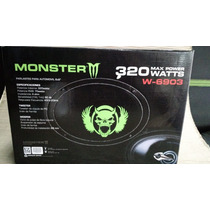Parlantes 6x9 Monster 320w Linea W. Auto Uno Caseros Cuotas