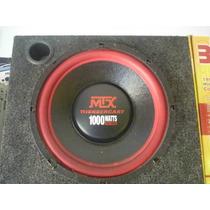 Woofer Mtx 12 Pulgadas Linea Profesional 1000 Watts 4 Ohms
