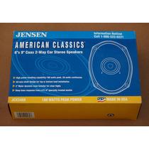 Parlantes Para Auto Jensen 6 X9 Coax 2 Vias Importados Usa!!