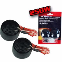 Juego Mini Tweeter 500 Watts 92 Db + Capacitor Xtx-2200 Xxx