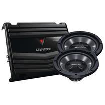 Kenwood - Subwoofers Y Amplificador De 12 - Negro