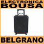 Bafle Portatil C/bateria Usb/mic 8 45watts Panacom Sp-3090