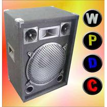Bafle Potenciado De 12 Entrada Rca, Amplificador Incorporado