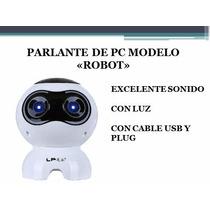 Parlante Para Pc Perro Robot