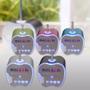 Mini Parlante Portatil Sd Usb Radio Td-v26+ Luz+pantalla Led