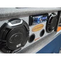 Reproductor Music Box Digital Portátil Batería Sd Usb Am Fm