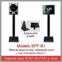 Soporte Parlantes P/ Sony Muteki Y Otros - Mod. Spf-b1