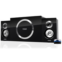 Parlantes Noga Party 2.1 Pc Notebook Tablet Tv