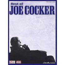 Hal Leonard Lo Mejor Joe Cocker Libro Partitura Piano Guitar