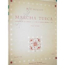 Partitura Piano Marcha Turca Mozart Ricordi