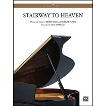 Partitura Stairway To Heaven Led Zeppelin Piano Letra Chor