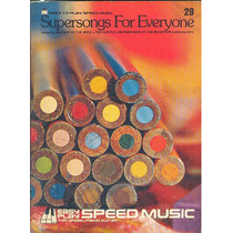 Partitura Nº 29 Supersongs Speed Music Ingles