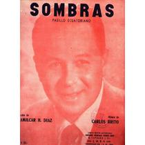 * Partitura Para Piano - Pasillo Ecuatoriano - Sombras