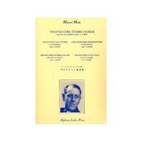 Saxo (todos) 24 Esudios Faciles De Marcel Mule