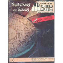 Partitura Nº 8 Yesterday And Today Speed Music Idioma Ingles